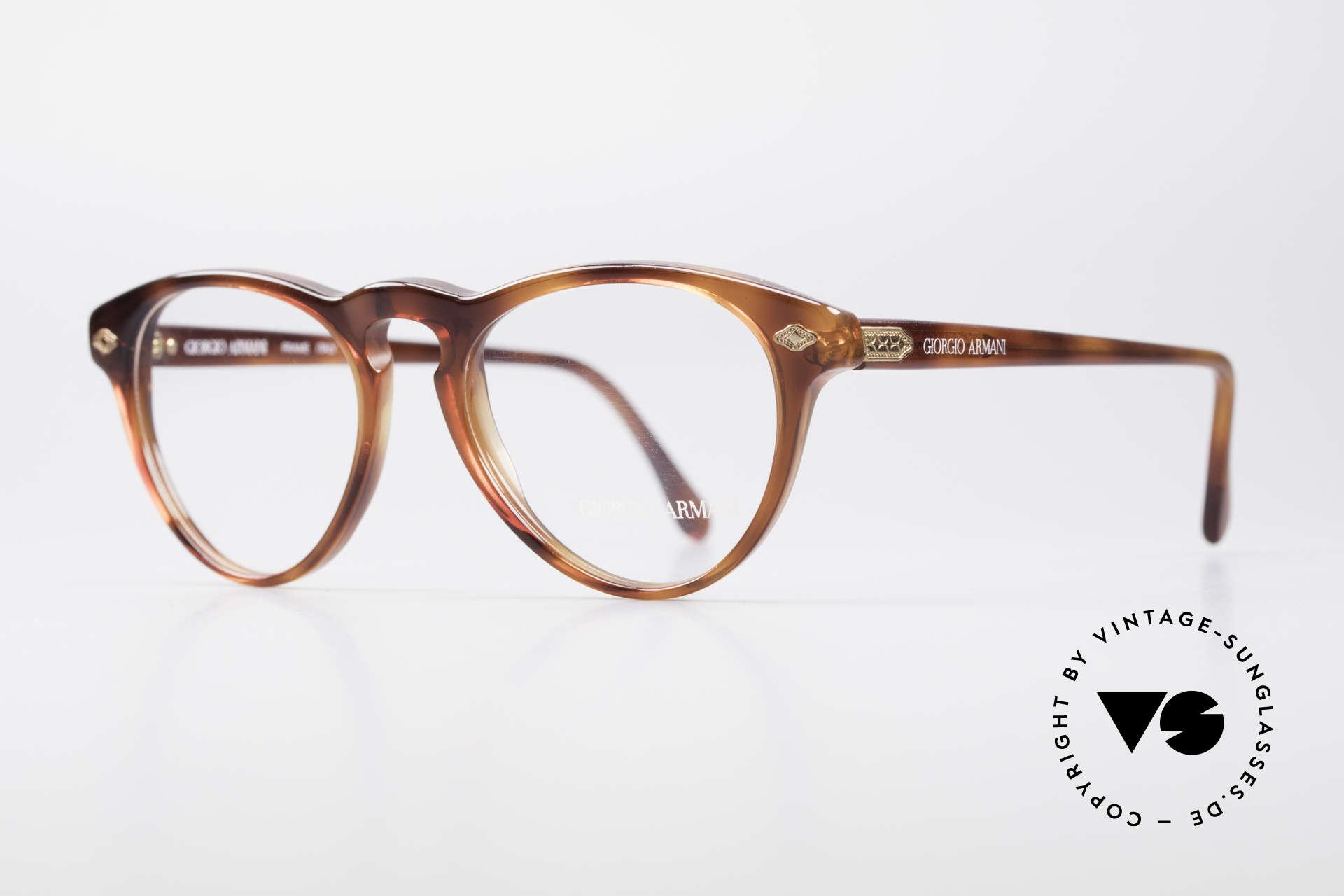 Giorgio Armani 418 ErdbeerForm Vintage Brille, Unisex-Modell in 'strawberry design' (Erdbeerform), Passend für Herren und Damen