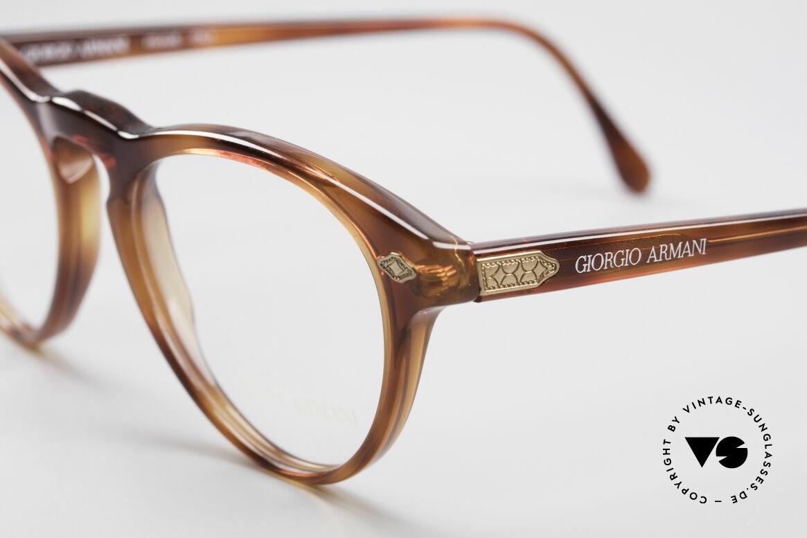 Giorgio Armani 418 ErdbeerForm Vintage Brille, der Rahmen kann natürlich beliebig verglast werden, Passend für Herren und Damen