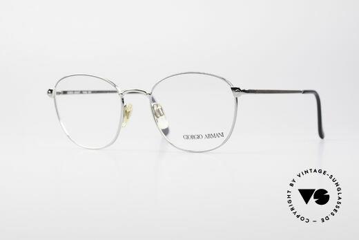 Giorgio Armani 168 Herren 80er Vintage Brille Details