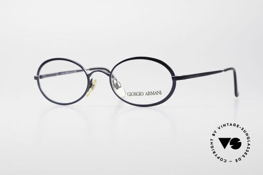 Giorgio Armani 277 Ovale Vintage Brille 90er Details