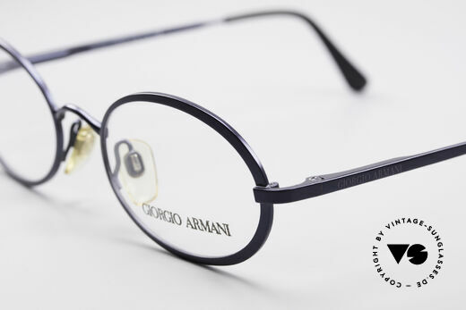 Giorgio Armani 277 Ovale Vintage Brille 90er