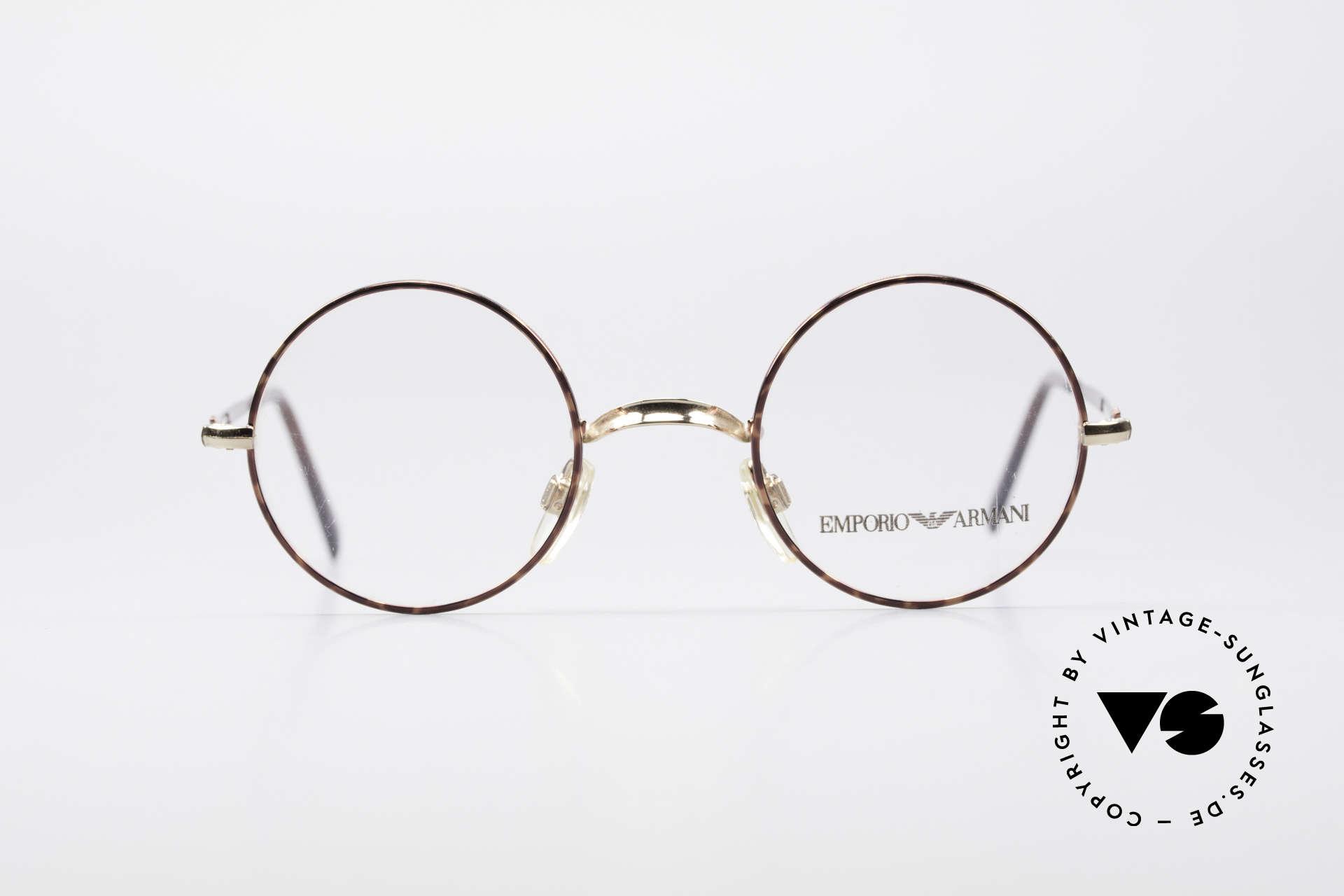 Brillen Giorgio Armani EA013 Kleine Rund Vintage Brille | Vintage ...