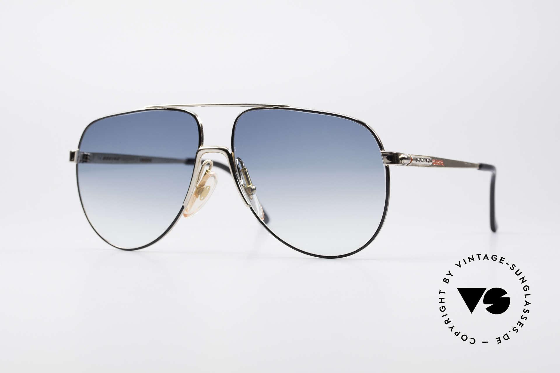 Boeing 5730 Echte Pilotensonnenbrille, echte Pilotenbrille aus den späten 80ern von Carrera, Passend für Herren