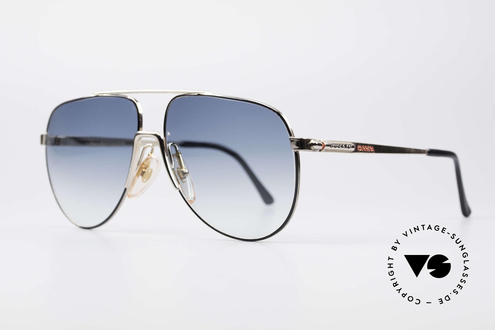 Boeing 5730 Echte Pilotensonnenbrille, Größe 'small' der 80er = 'MEDIUM' Größe heutzutage, Passend für Herren