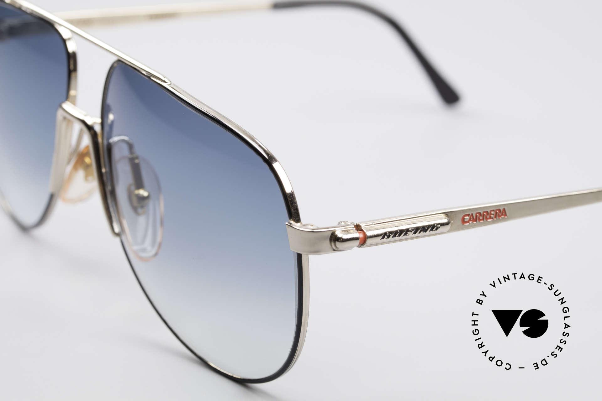 Boeing 5730 Echte Pilotensonnenbrille, Rahmen in absoluter Top-Qualität; für Piloten gefertigt, Passend für Herren