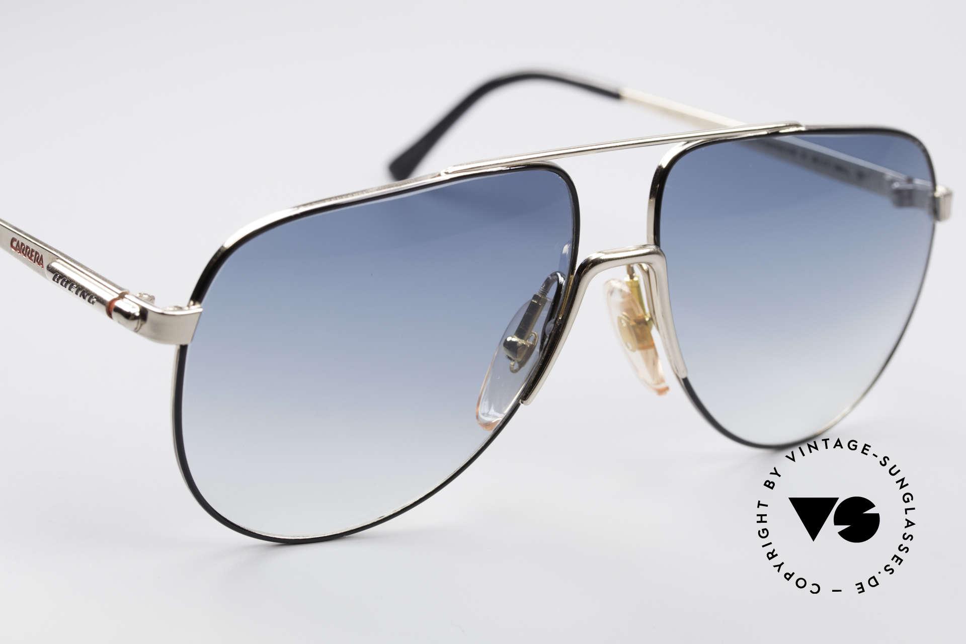 Boeing 5730 Echte Pilotensonnenbrille, Kleinst-Serie mit Seriennr. von 1988/89 (Sammlerstück), Passend für Herren