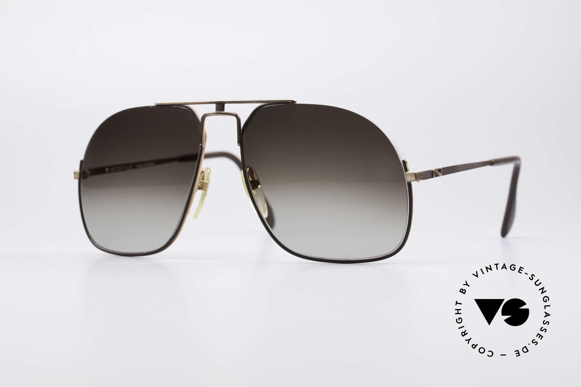 Neostyle Jet 16 Außergewöhnliche 80er Brille, vintage 80er Herrensonnenbrille von Neostyle, Passend für Herren