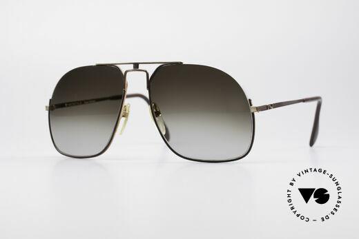 Neostyle Jet 16 Außergewöhnliche 80er Brille Details