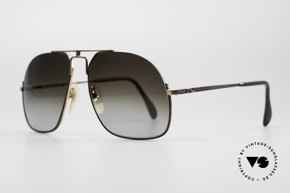 Neostyle Jet 16 Außergewöhnliche 80er Brille, außergewöhnliche vintage Brille (halb randlos), Passend für Herren