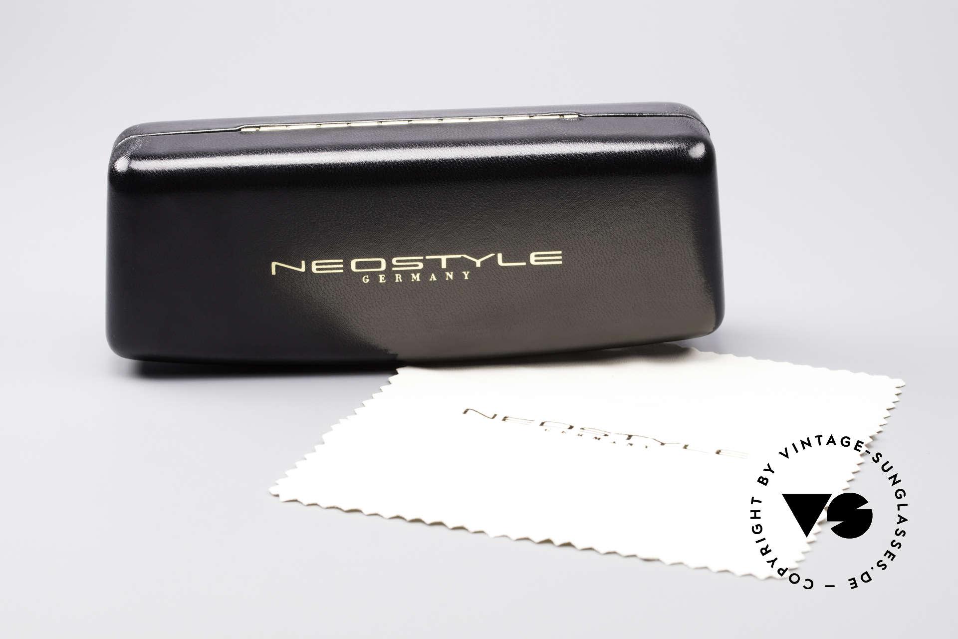 Neostyle Jet 16 Außergewöhnliche 80er Brille, Größe: medium, Passend für Herren