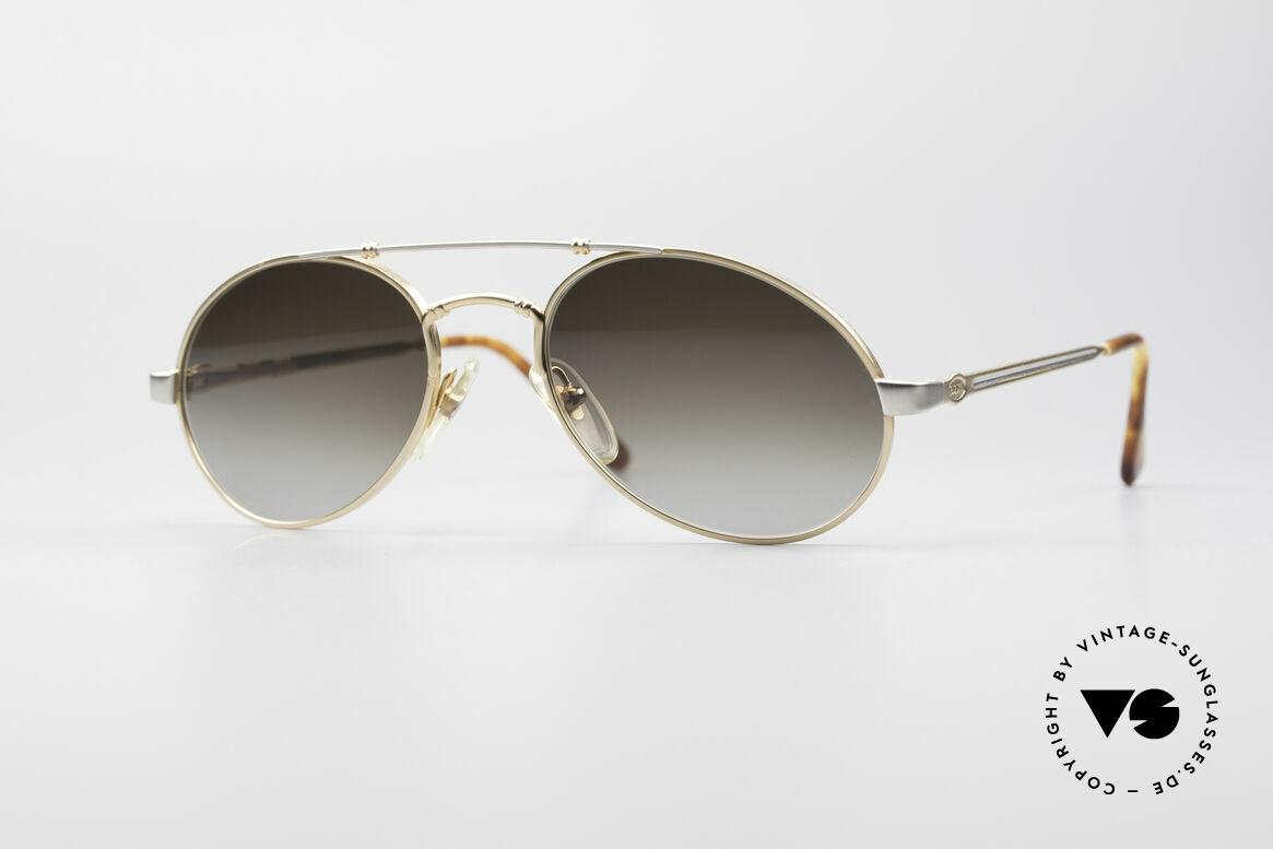 Bugatti 18503 90er Herren Sonnenbrille, sehr elegante Bugatti vintage Designer-Sonnenbrille, Passend für Herren