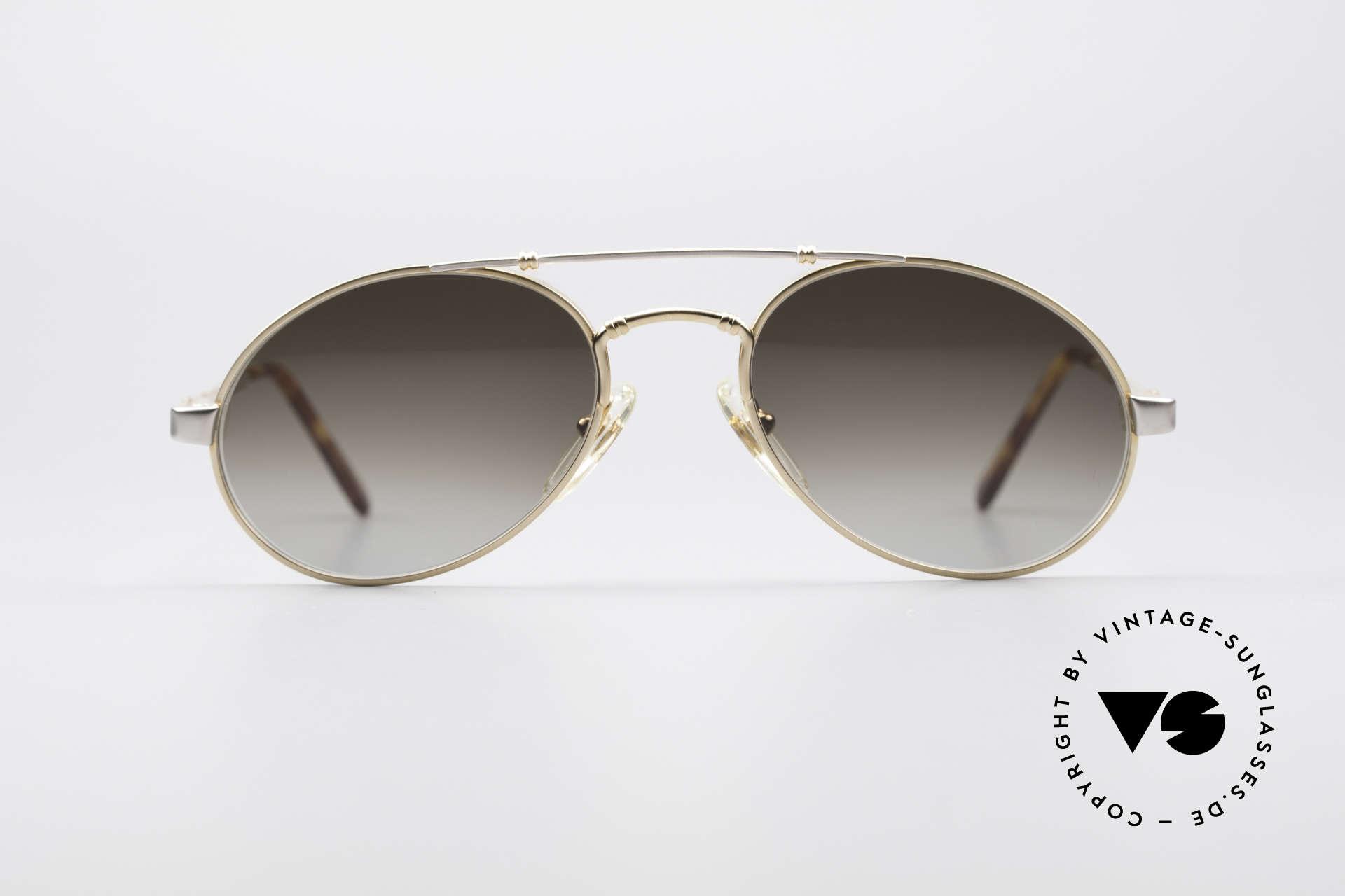 Bugatti 18503 90er Herren Sonnenbrille, circa Anfang der 90er Jahre in Frankreich produziert, Passend für Herren