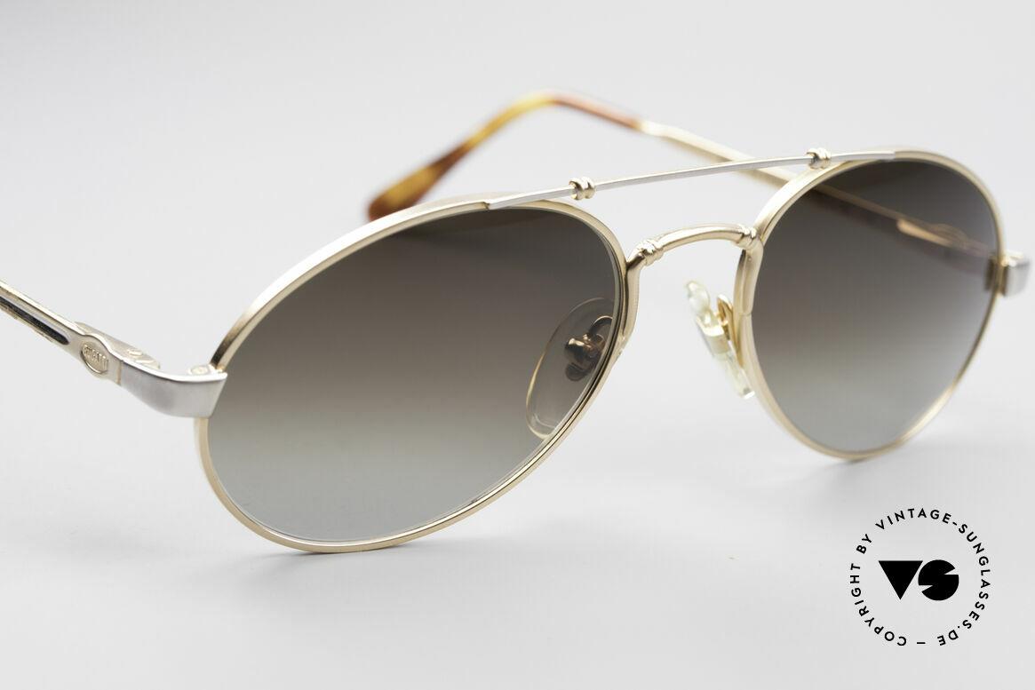 Bugatti 18503 90er Herren Sonnenbrille, ungetragen (wie alle unsere 1990er BUGATTI Brillen), Passend für Herren