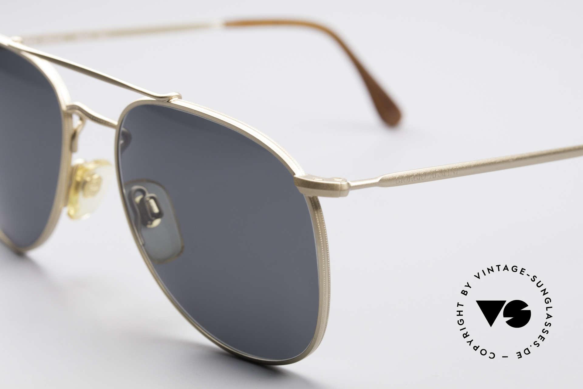 Giorgio Armani 149 Designer PilotenSonnenbrille, 122mm Breite = SMALL (auch für Damen passend), Passend für Herren und Damen