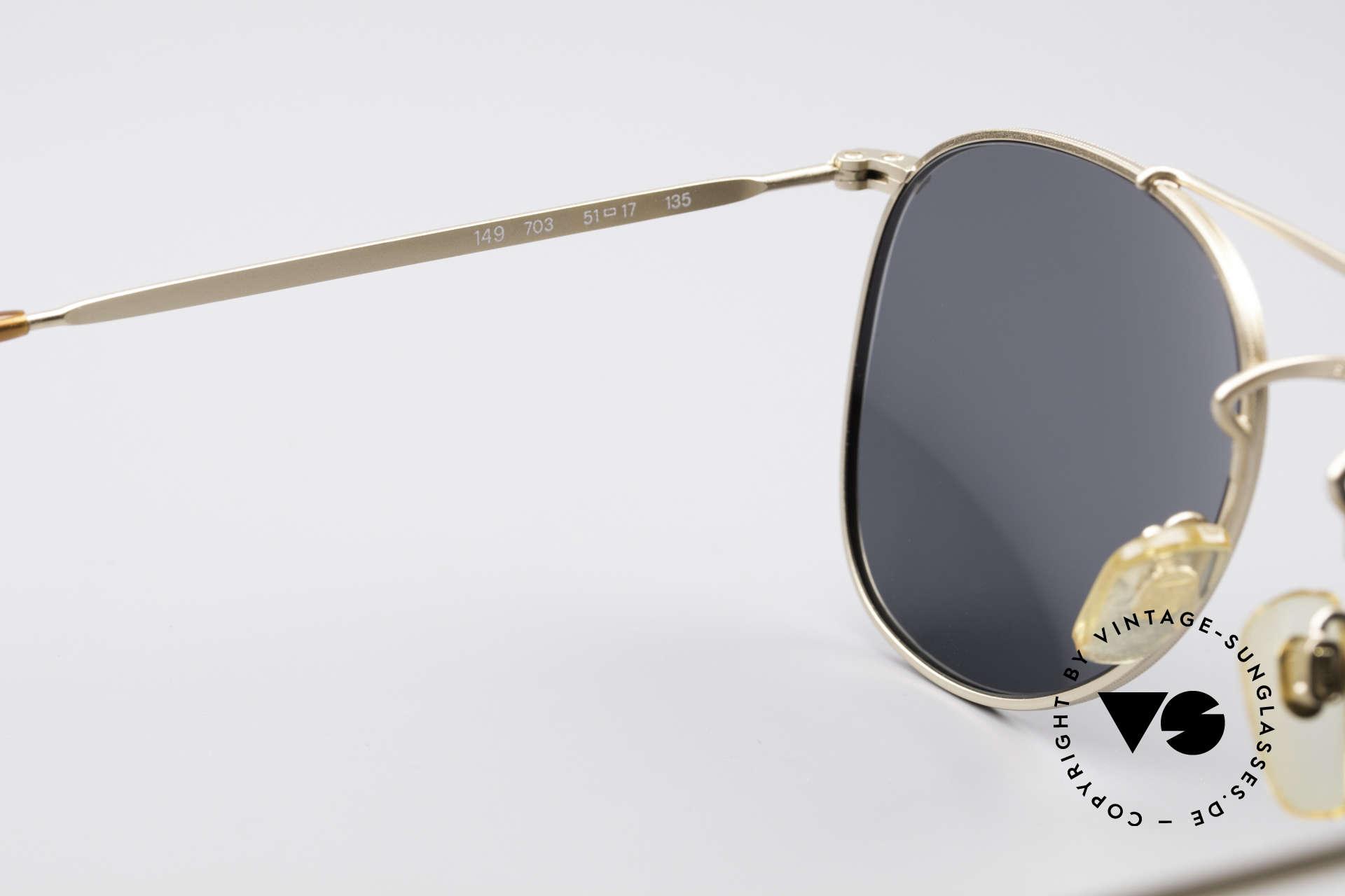 Giorgio Armani 149 Designer PilotenSonnenbrille, keine aktuelle Kollektion, sondern echte 90er Ware, Passend für Herren und Damen