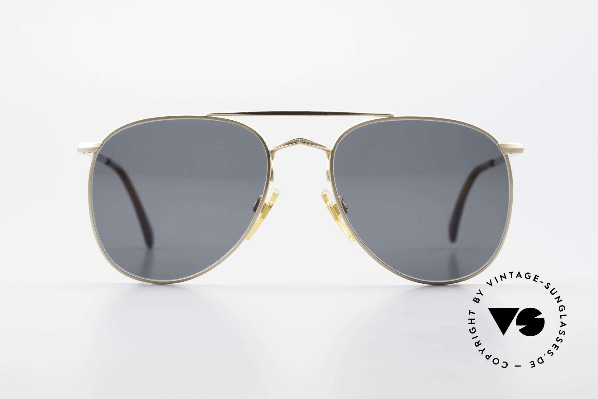 Giorgio Armani 149 Kleine Aviator Sonnenbrille, vintage Sonnenbrille vom Modedesigner G.Armani, Passend für Herren und Damen