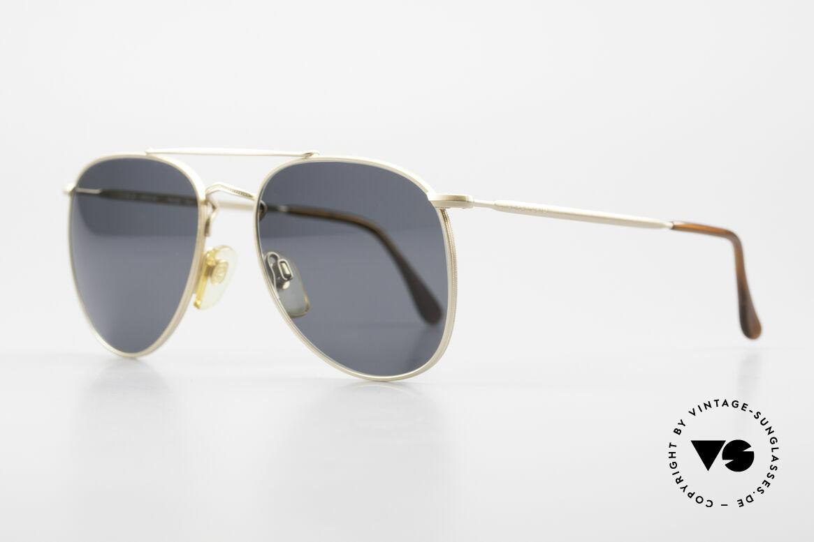 Giorgio Armani 149 Kleine Aviator Sonnenbrille, dezenter, zeitloser Stil; passt gut zu jedem Look!, Passend für Herren und Damen