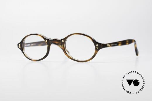 Giorgio Armani 342 Kleine Ovale 90er Brille Details