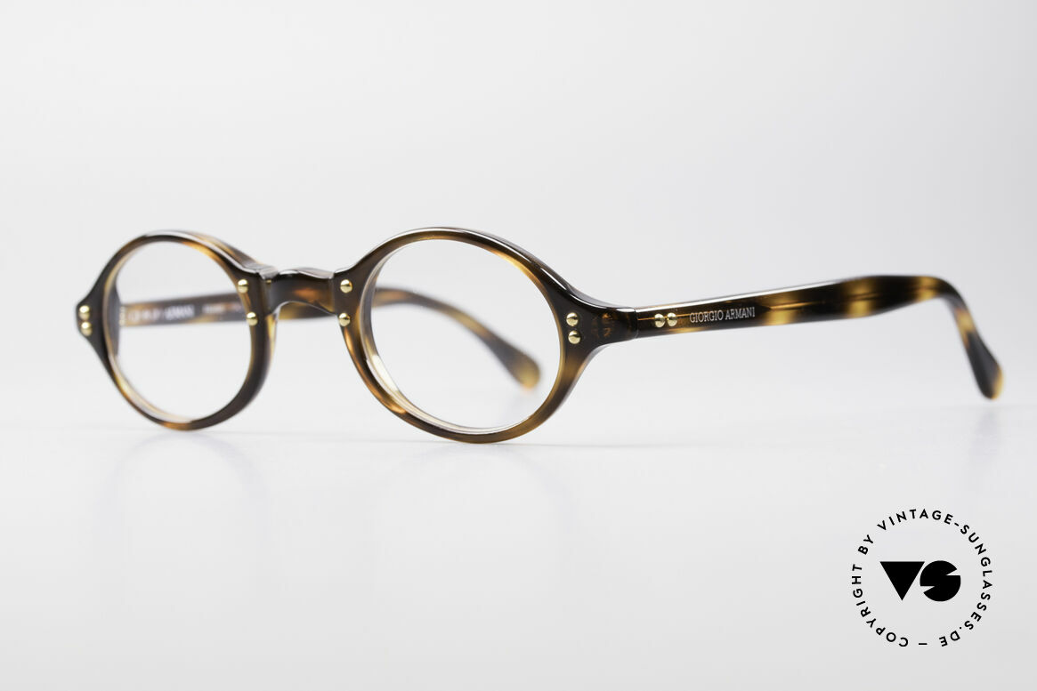 Giorgio Armani 342 Kleine Ovale 90er Brille
