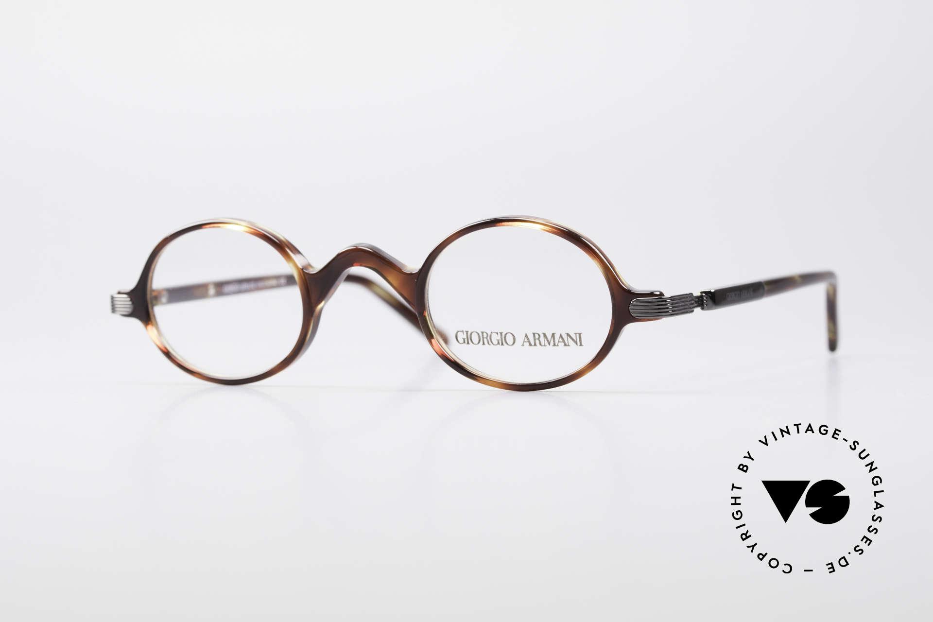 00fa411f07a5 Brillen Giorgio Armani 2045 Kleine Runde 90er Brille