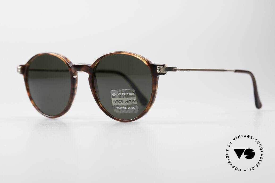 Giorgio Armani 358 Vintage Panto Sonnenbrille