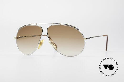 Zollitsch Marquise Rare Vintage Sonnenbrille Details