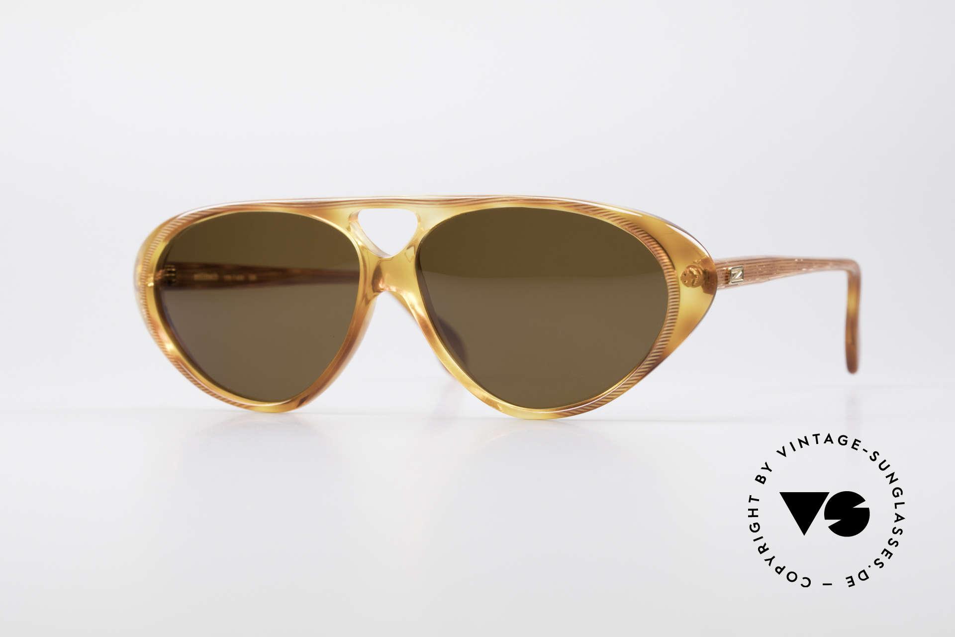 Zollitsch 178 Außergewöhnliche Fassung, außergewöhnliche vintage ZOLLITSCH Sonnenbrille, Passend für Herren und Damen