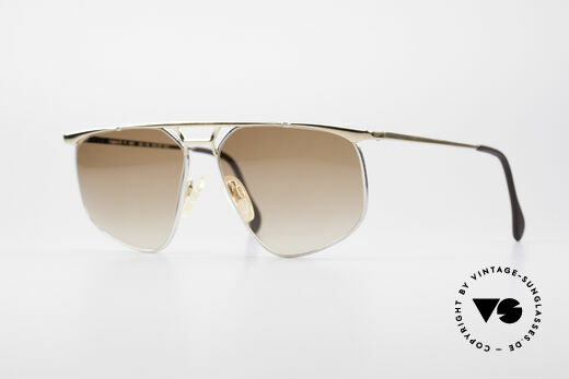 Zollitsch Cadre 9 18kt Gold Plated Sonnenbrille Details