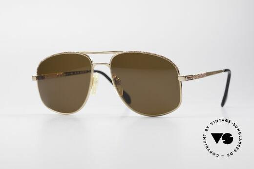 Zollitsch Cadre 8 18k Gold Plated Sonnenbrille Details