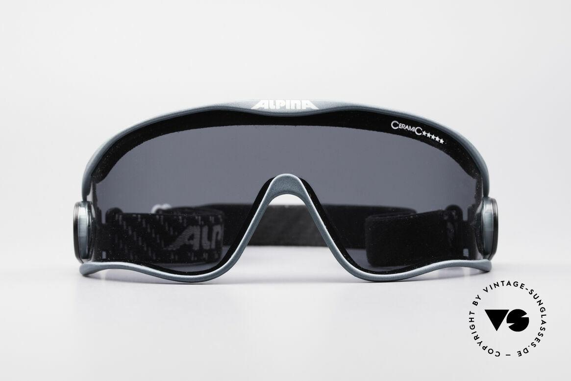 Alpina S3 Ceramic 90er Promi Sport Brille