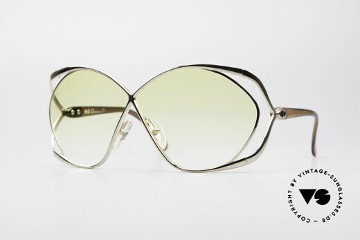 Christian Dior 2056 80er Damen XL Sonnenbrille Details