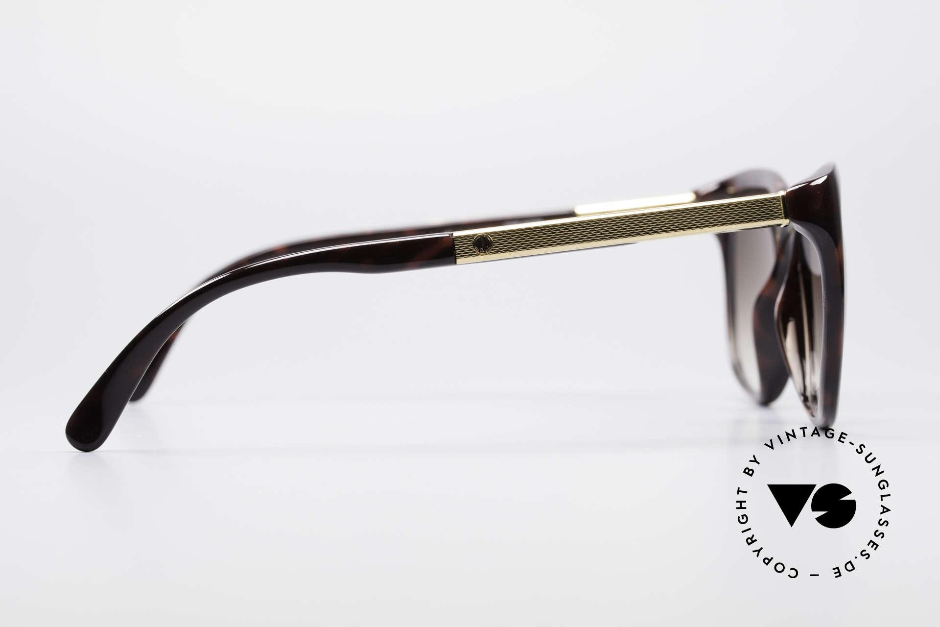 """Dunhill 6006 80er Sonnenbrille Herren, edle Rahmengestaltung in """"schildpatt-bordeaux', Passend für Herren"""