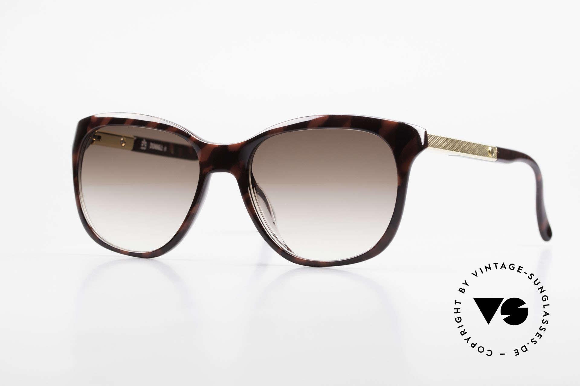 Dunhill 6006 Alte 80er Sonnenbrille Herren, zeitloses, stilvolles Design aus dem Jahre 1982, Passend für Herren