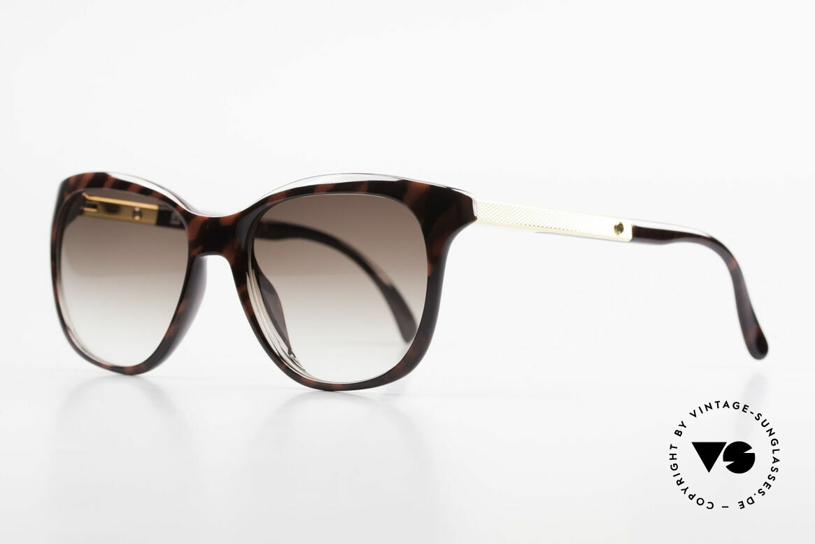 Dunhill 6006 Alte 80er Sonnenbrille Herren, hoher Tragekomfort (vergoldete Federgelenke), Passend für Herren