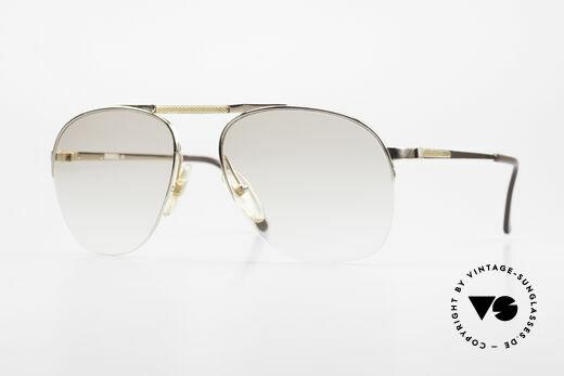 Dunhill 6022 80er Gentleman Nylor Brille Details