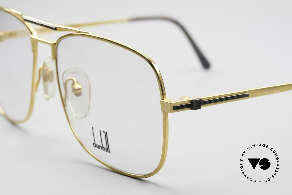 Dunhill 6038 Vergoldete 80er Titanium Brille, (heute werden Designerbrillen für <5,00 € produziert), Passend für Herren