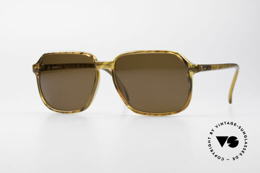 Dunhill 6008 Vintage Optyl Sonnenbrille Details