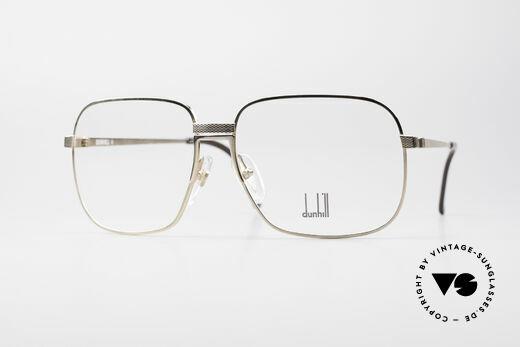 Dunhill 6090 Vergoldete 90er Herrenbrille Details