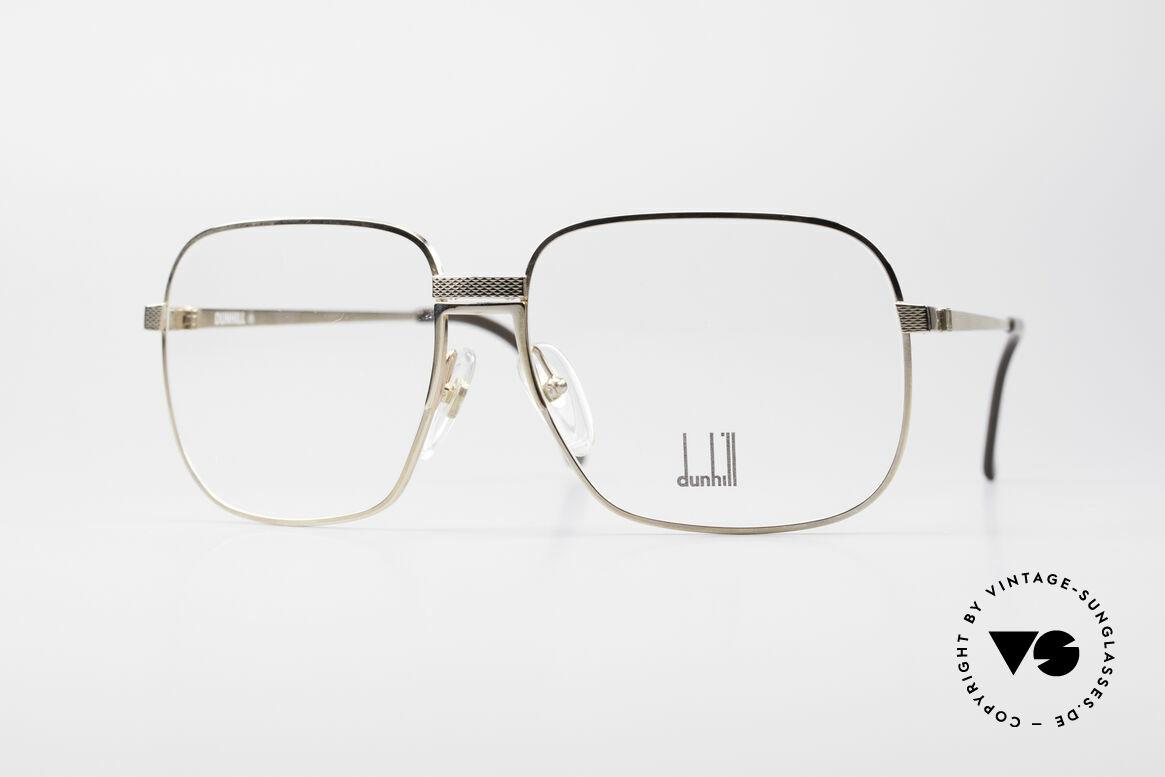 Dunhill 6090 Vergoldete 90er Herrenbrille, vintage A. Dunhill Gentleman-Brillenfassung v. 1990, Passend für Herren