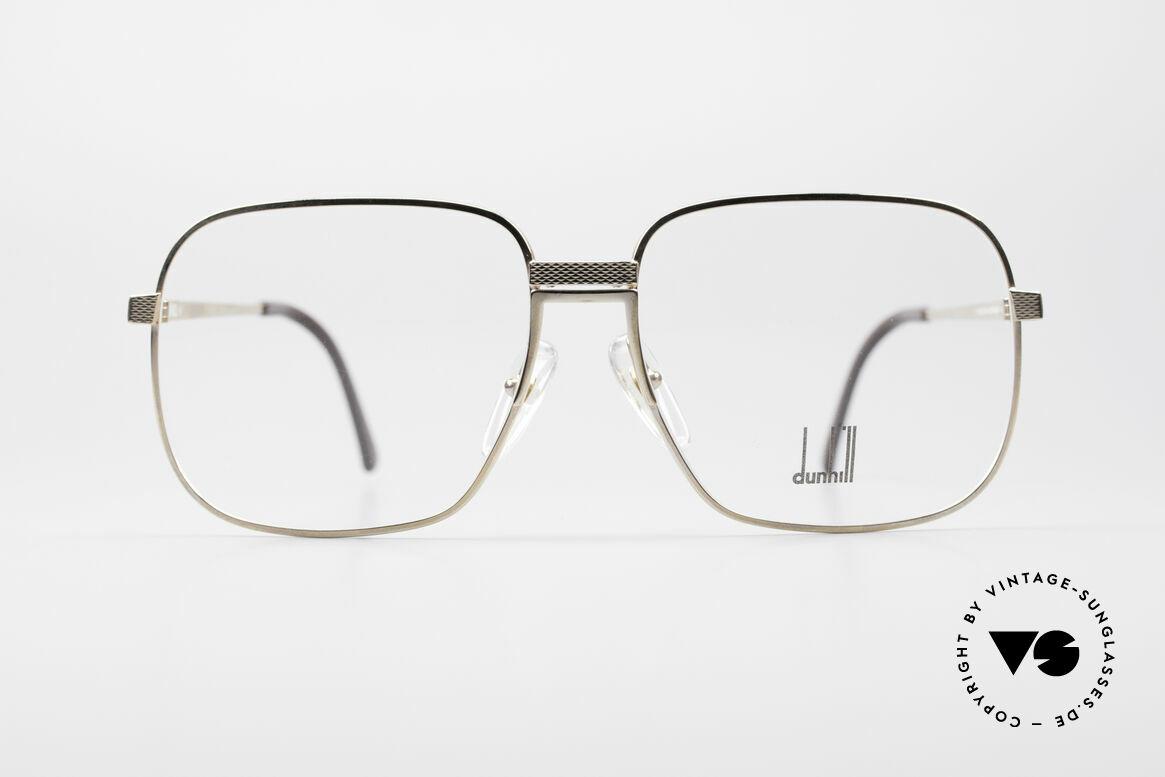 Dunhill 6090 Vergoldete 90er Herrenbrille, Meisterwerk in Sachen Stil, Funktionalität & Qualität, Passend für Herren