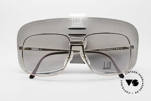 Dunhill 6090 Vergoldete 90er Herrenbrille, KEIN RETRO, sondern ein kostbares altes ORIGINAL!!, Passend für Herren