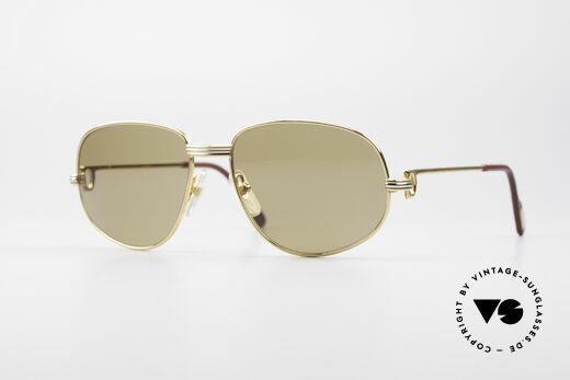 Cartier Romance LC - M Luxus Designer Sonnenbrille Details