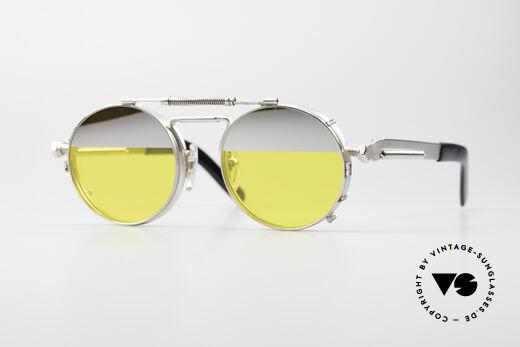 Jean Paul Gaultier 56-8171 Steampunk Brille mit Clip Details