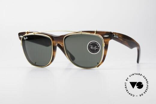 Ray Ban Wayfarer II JFK USA Vintage Sonnenbrille Details