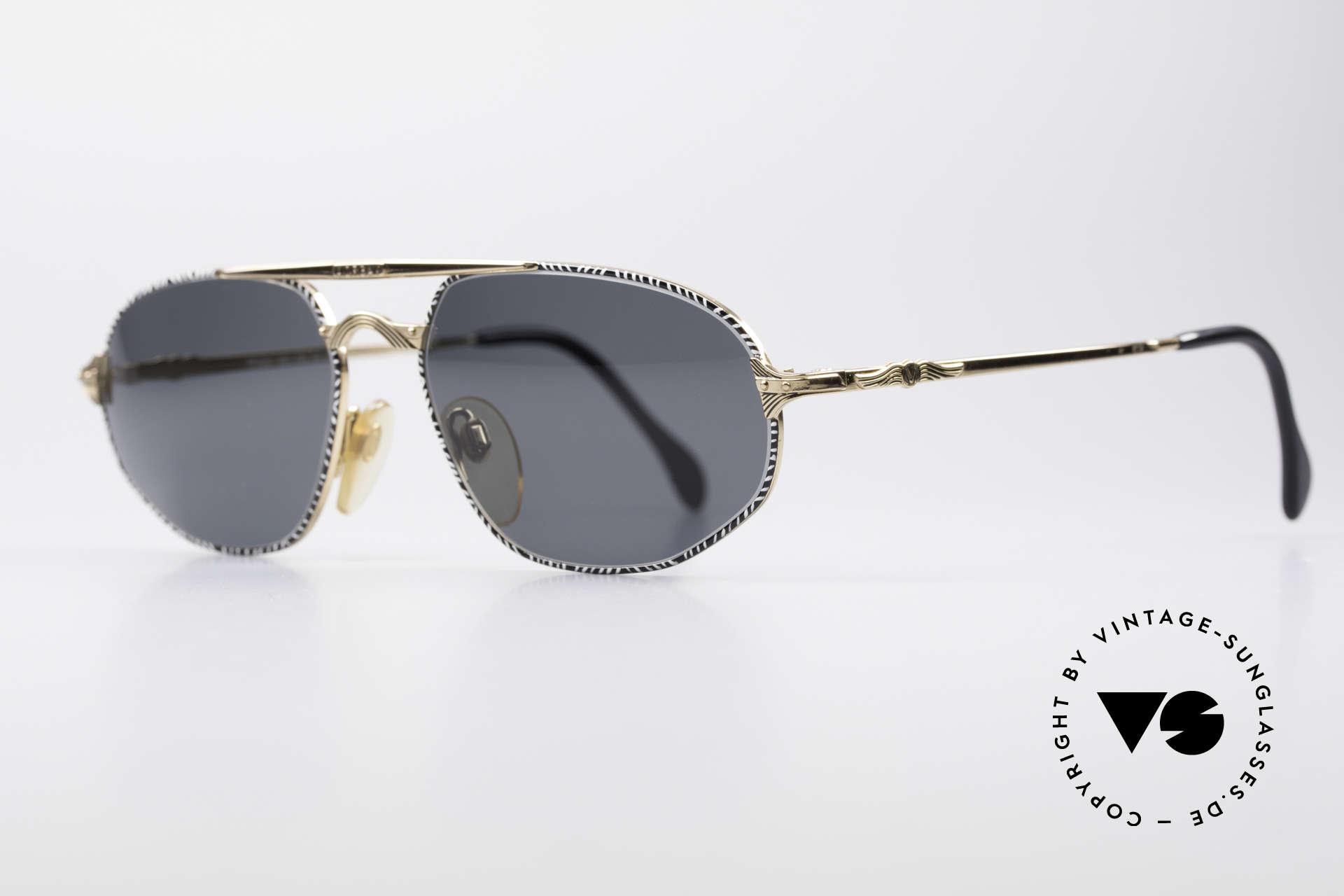 Morgan Motors 804 Oldtimer Sonnenbrille, sehr edel & reich an Details (wie die herrlichen Autos), Passend für Herren