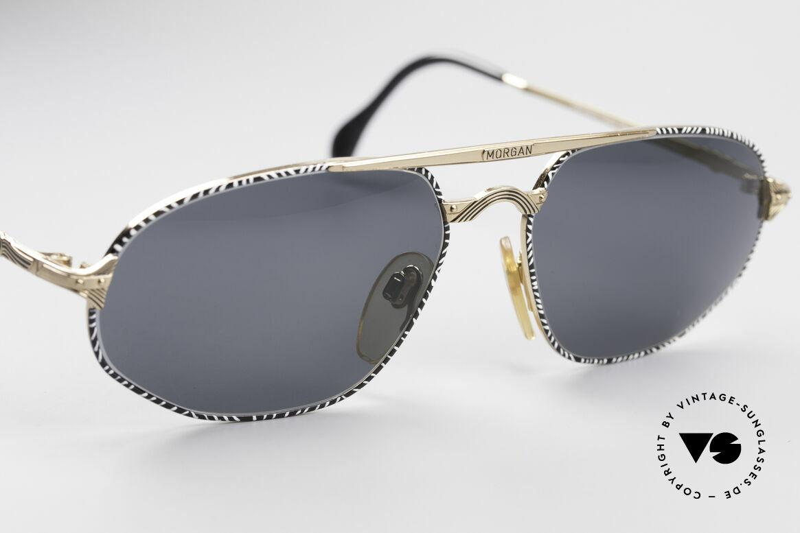 Morgan Motors 804 Oldtimer Sonnenbrille, ungetragen (wie alle unsere antiken Sammlerstücke), Passend für Herren