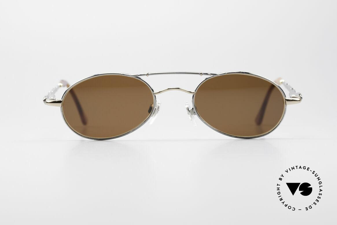 Bugatti 09992 90er Herren Sonnenbrille, sehr elegante Bugatti vintage Designer-Sonnenbrille, Passend für Herren