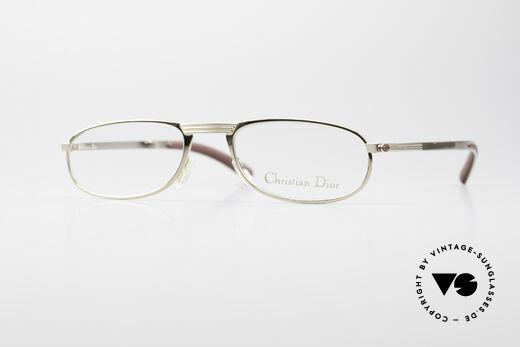 Christian Dior 2727 Vintage Designer Lesebrille Details