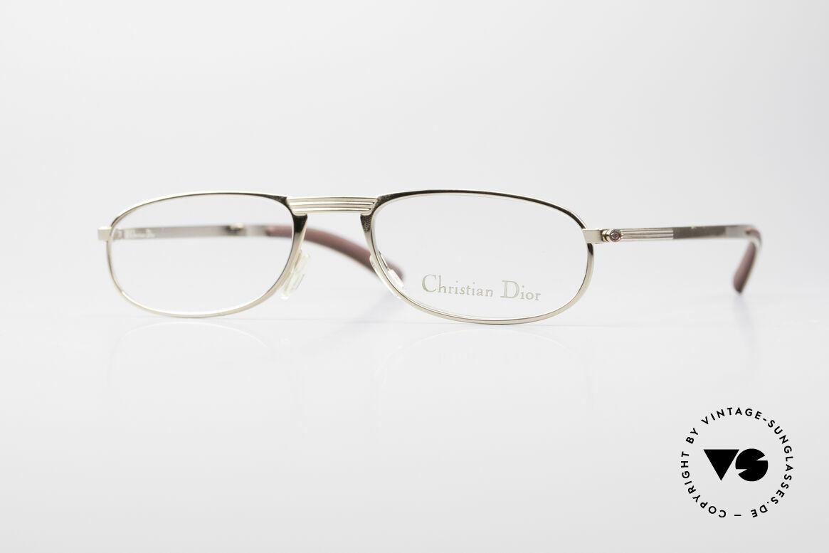 Christian Dior 2727 Vintage Designer Lesebrille, ausdrucksstarke vintage Designerbrille von Dior, Passend für Herren
