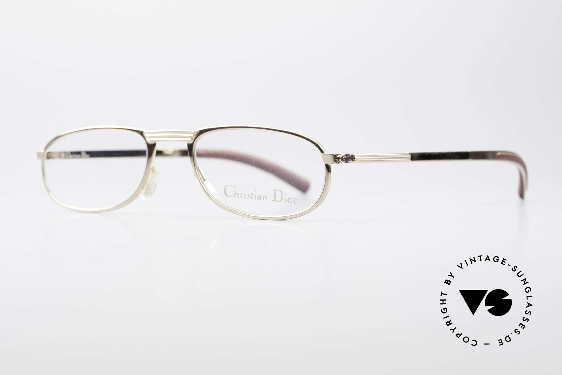 Christian Dior 2727 Vintage Designer Lesebrille, hergestellt um 1988 in Österreich; Top-Qualität, Passend für Herren